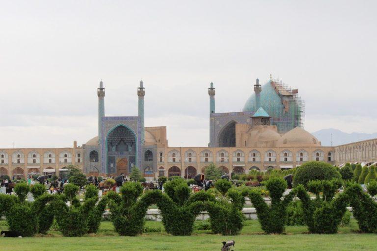 la ville d'Ispahan